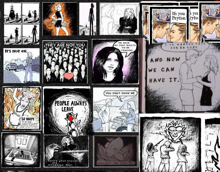 One Tree Hill Peyton Drawings They Are Not You One Tree Hill, Season ...