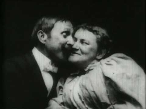1896 First Onscreen Kiss