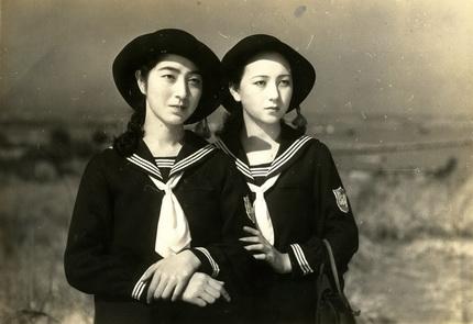 Sunako (L) and Dora (R)