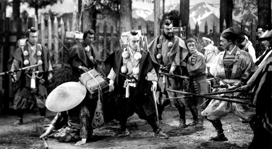 The Men Who Tread on the Tiger's Tail kurosawa